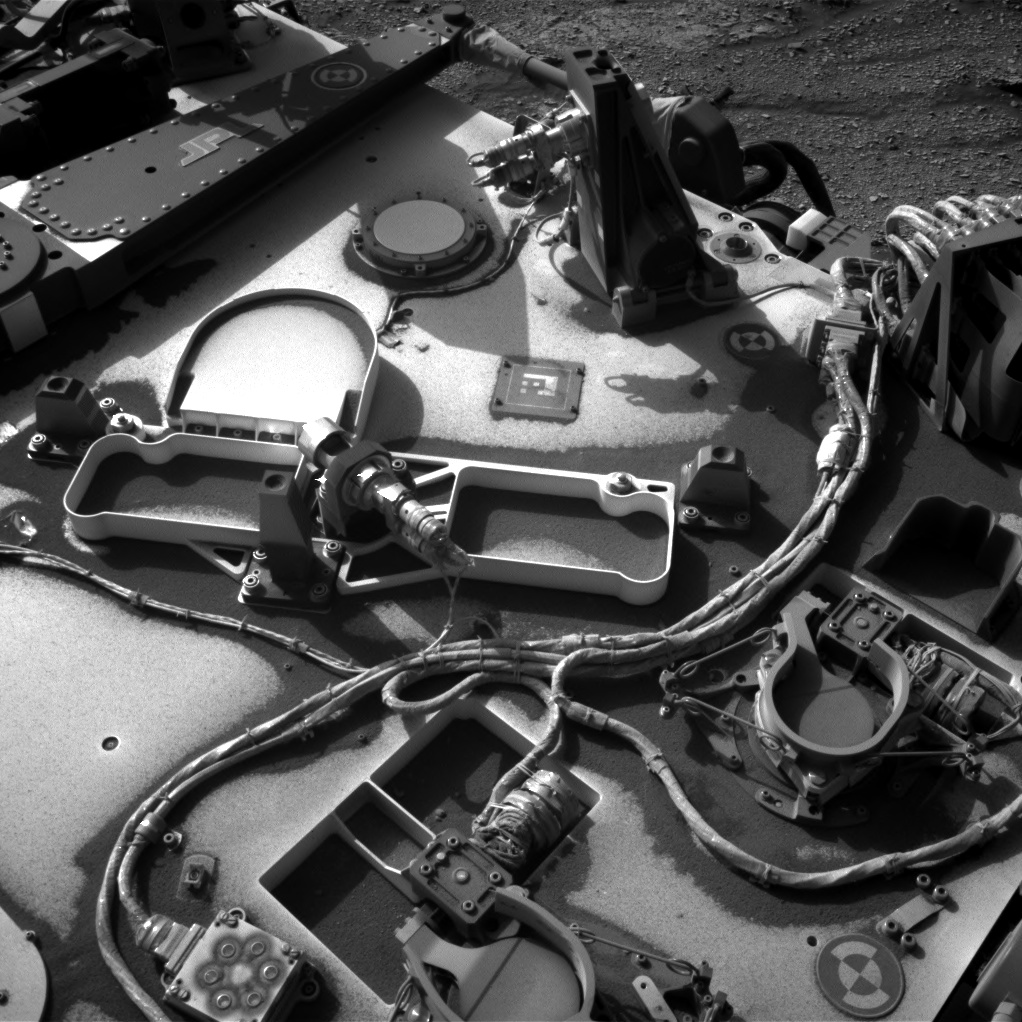 Nasa's Mars rover Curiosity acquired this image using its Right Navigation Camera on Sol 2488, at drive 3002, site number 76