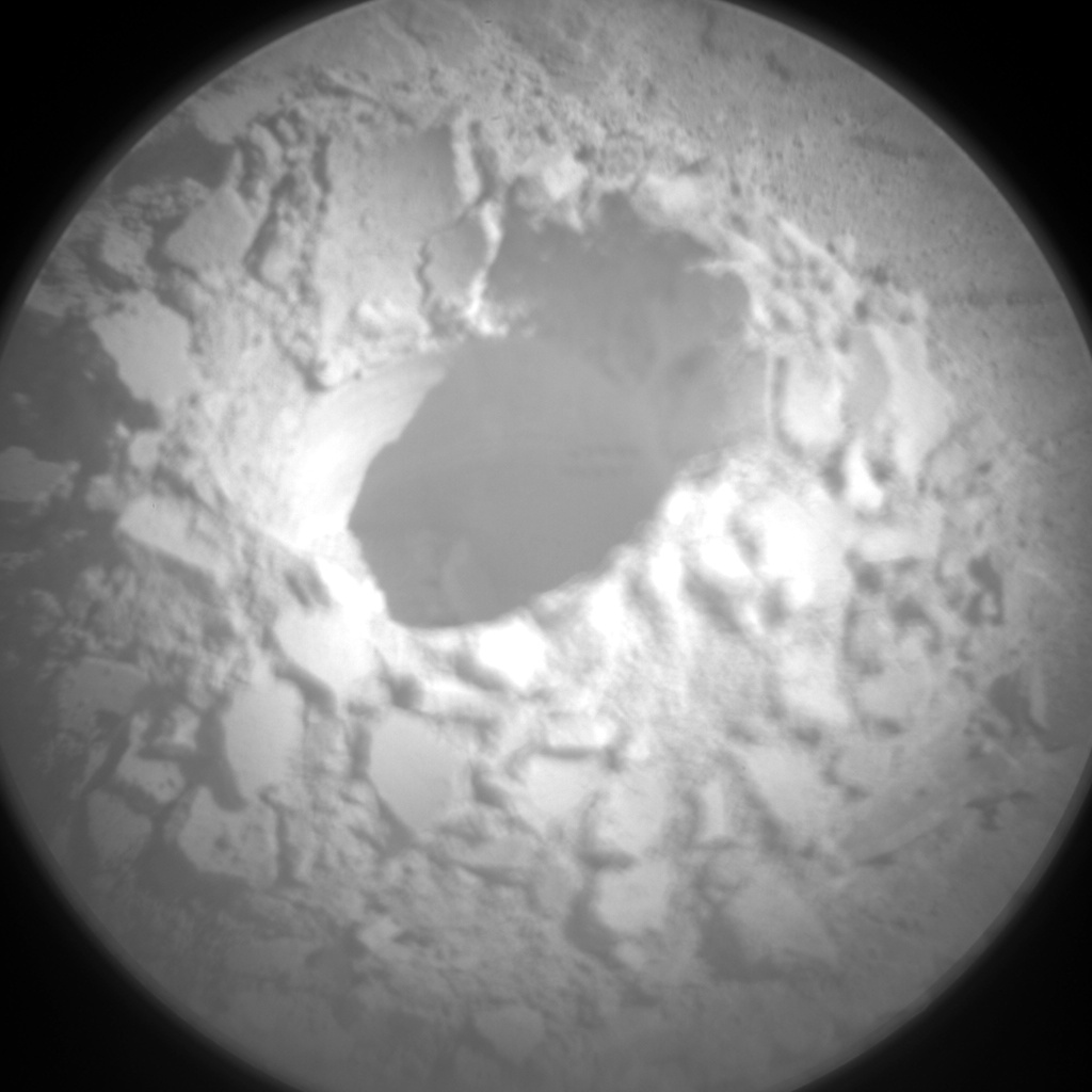 Nasa's Mars rover Curiosity acquired this image using its Chemistry & Camera (ChemCam) on Sol 2490, at drive 3002, site number 76