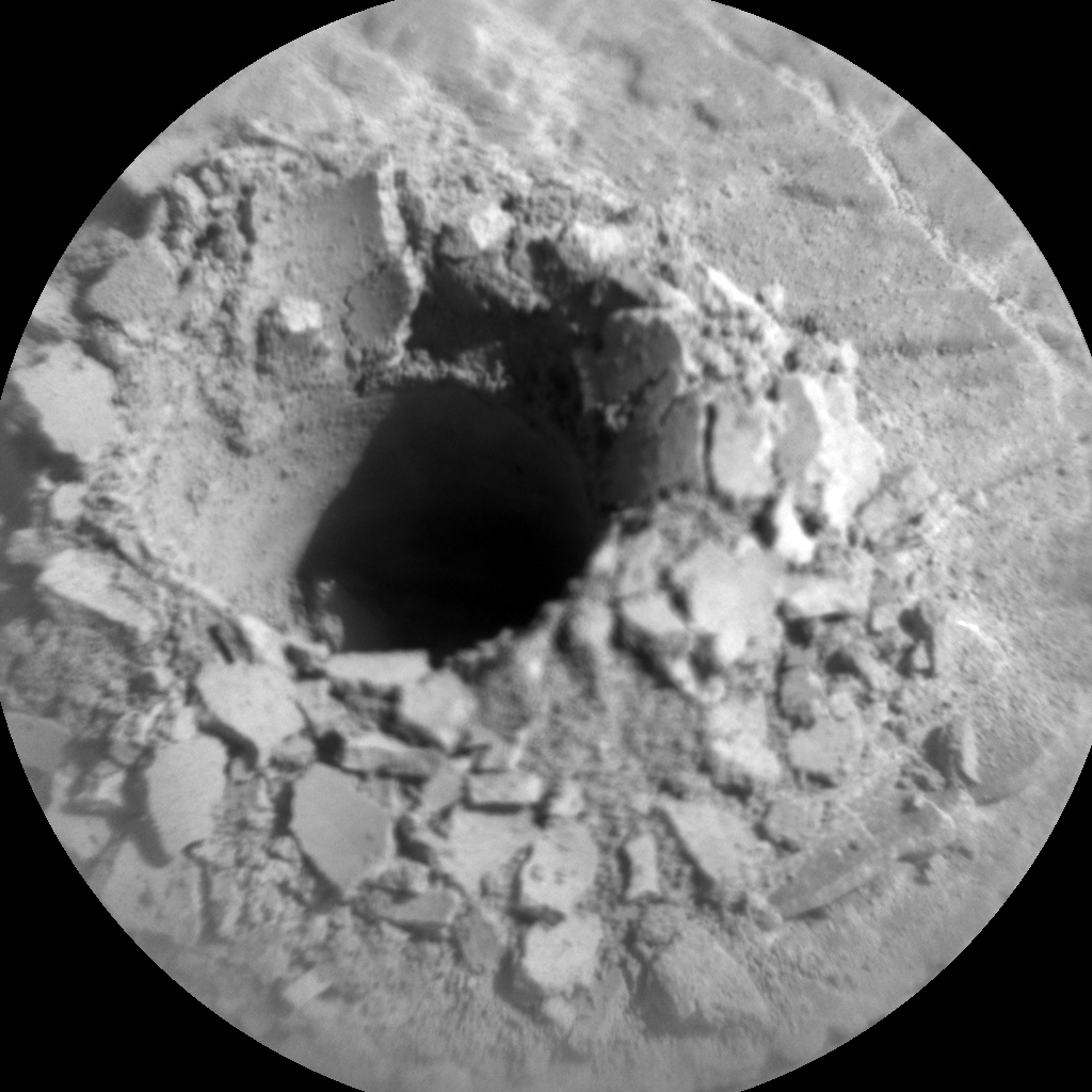 NASA's Mars rover Curiosity acquired this image using its Chemistry & Camera (ChemCam) on Sol 2490