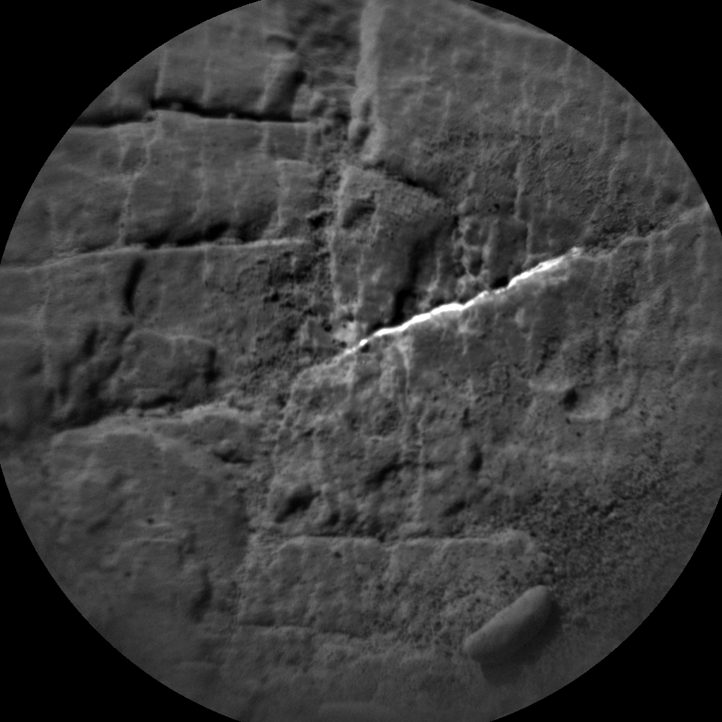 Nasa's Mars rover Curiosity acquired this image using its Chemistry & Camera (ChemCam) on Sol 2491, at drive 3002, site number 76