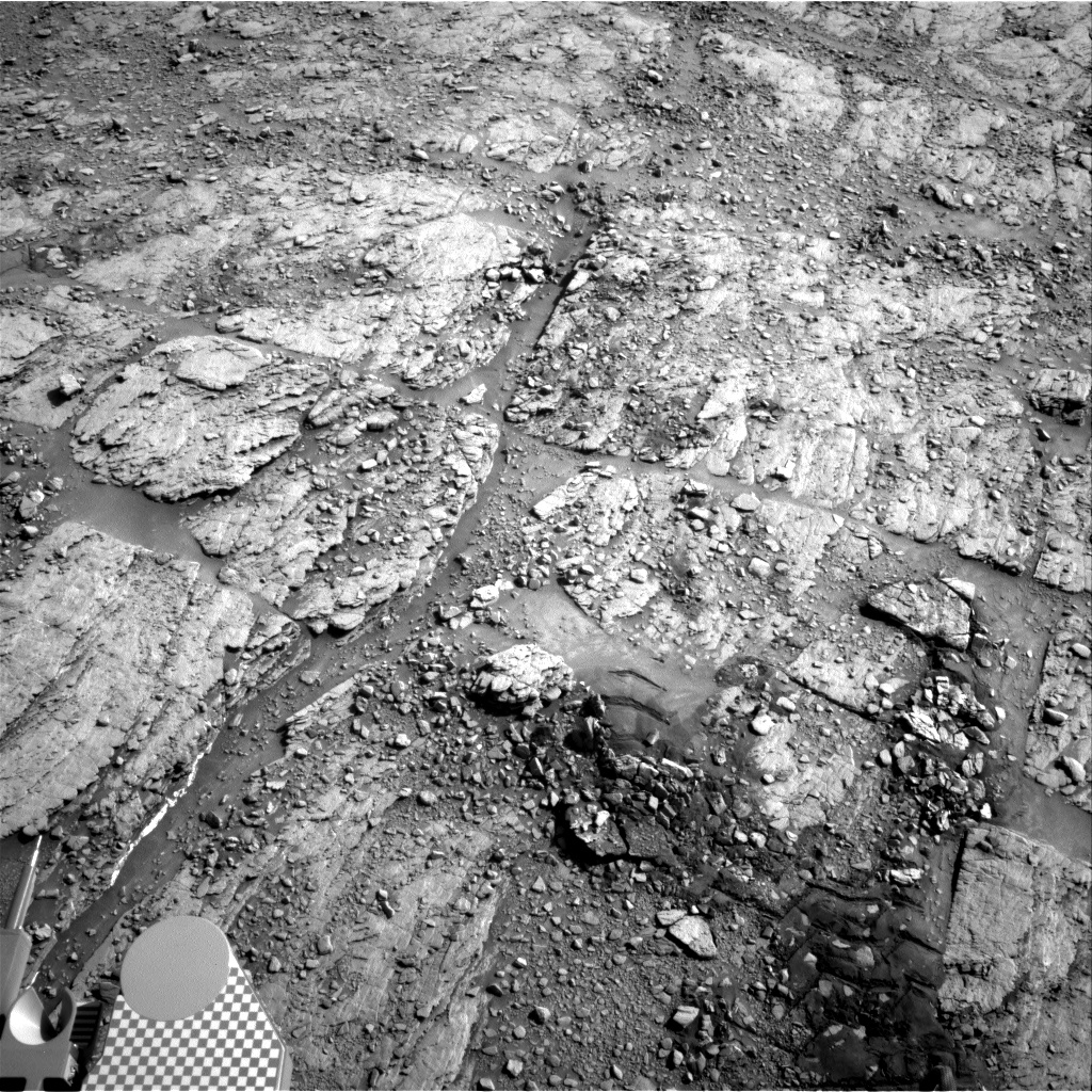Nasa's Mars rover Curiosity acquired this image using its Right Navigation Camera on Sol 2492, at drive 3002, site number 76