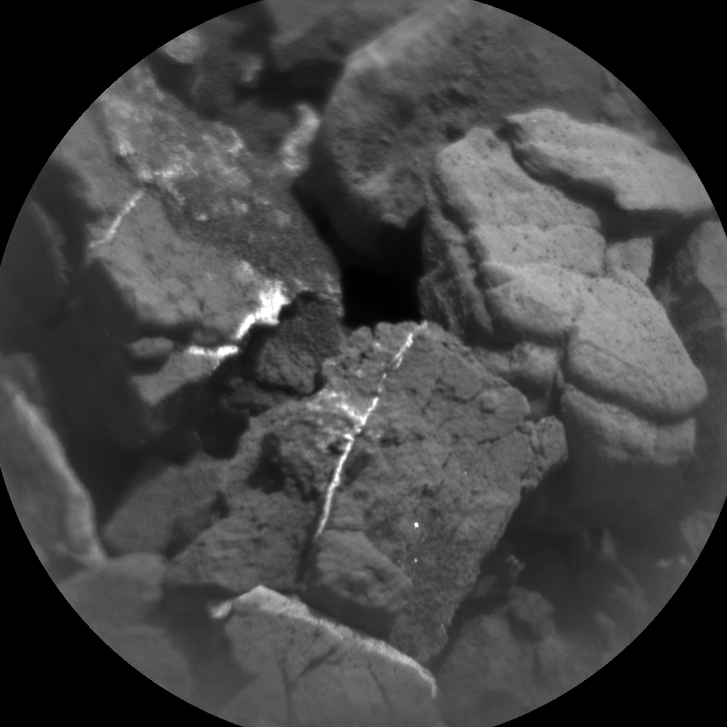 Nasa's Mars rover Curiosity acquired this image using its Chemistry & Camera (ChemCam) on Sol 2492, at drive 3002, site number 76