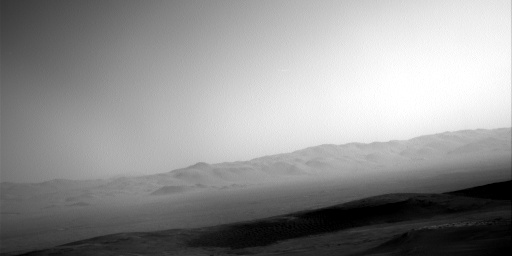 Nasa's Mars rover Curiosity acquired this image using its Right Navigation Camera on Sol 2493, at drive 3002, site number 76