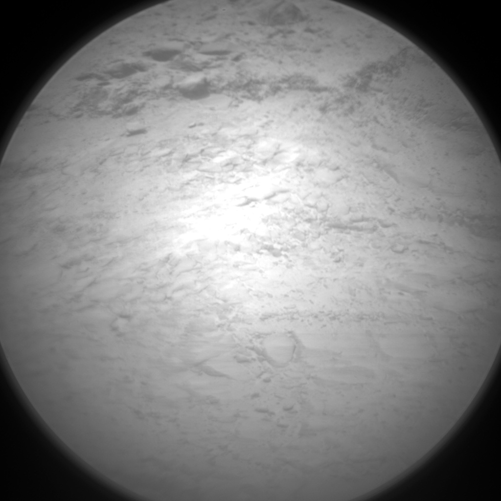 Nasa's Mars rover Curiosity acquired this image using its Chemistry & Camera (ChemCam) on Sol 2495, at drive 3002, site number 76