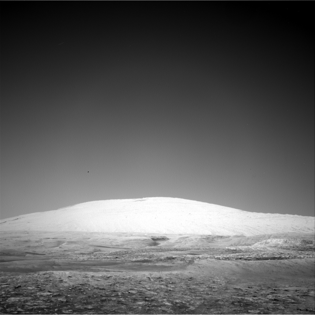 Nasa's Mars rover Curiosity acquired this image using its Right Navigation Camera on Sol 2495, at drive 3002, site number 76