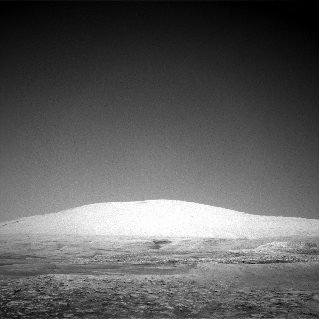 NASA's Mars rover Curiosity acquired this image using its Right Navigation Cameras (Navcams) on Sol 2495