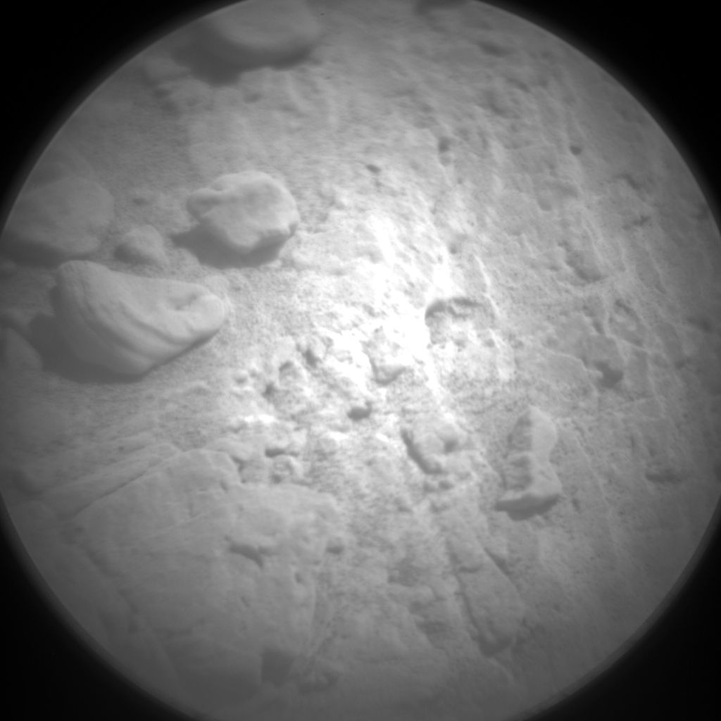 Nasa's Mars rover Curiosity acquired this image using its Chemistry & Camera (ChemCam) on Sol 2498, at drive 3002, site number 76