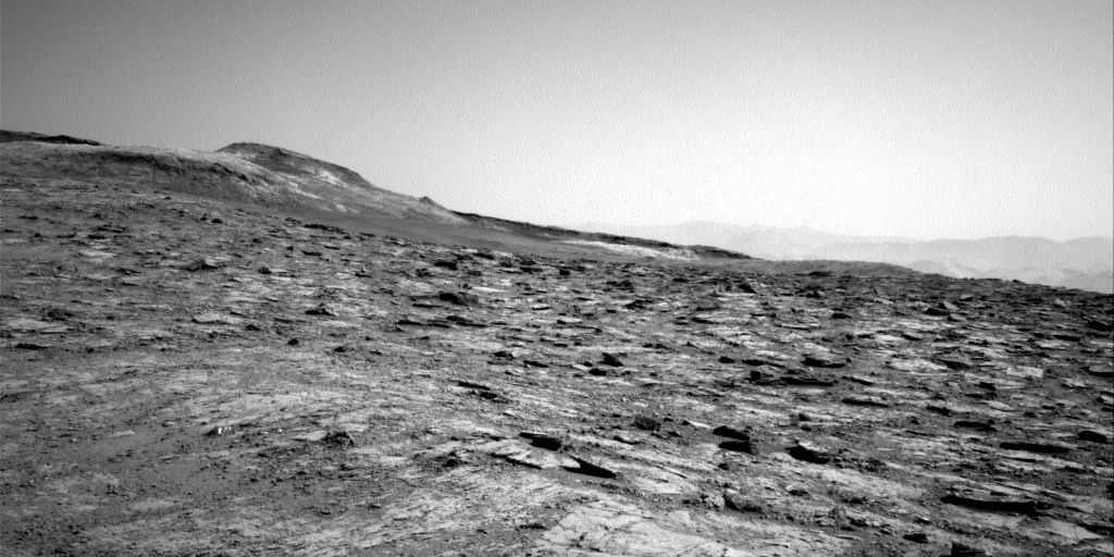 Nasa's Mars rover Curiosity acquired this image using its Right Navigation Camera on Sol 2498, at drive 3002, site number 76