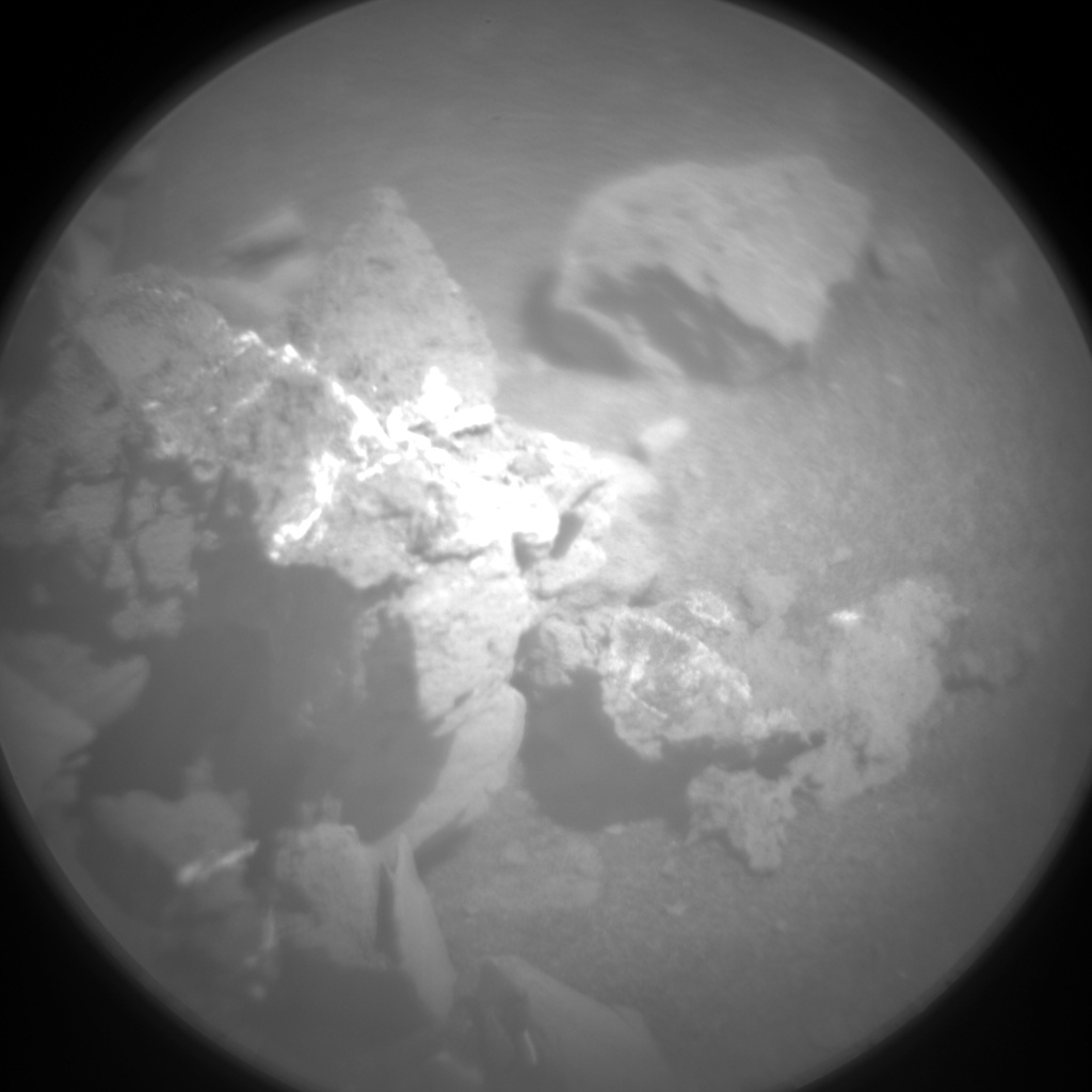 Nasa's Mars rover Curiosity acquired this image using its Chemistry & Camera (ChemCam) on Sol 2501, at drive 3002, site number 76