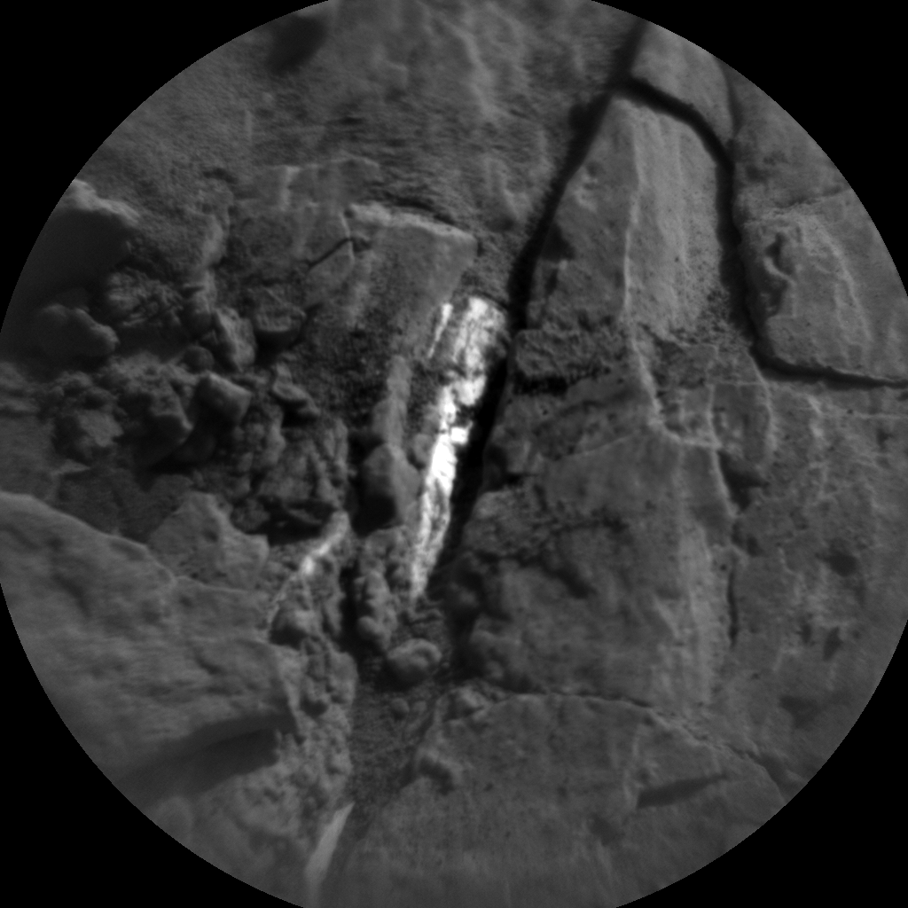 Nasa's Mars rover Curiosity acquired this image using its Chemistry & Camera (ChemCam) on Sol 2502, at drive 3002, site number 76
