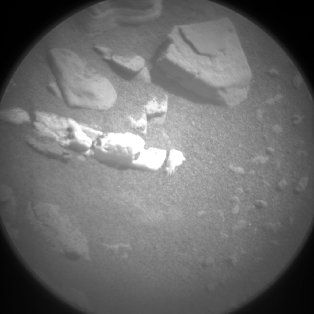 Nasa's Mars rover Curiosity acquired this image using its Chemistry & Camera (ChemCam) on Sol 2503, at drive 3002, site number 76