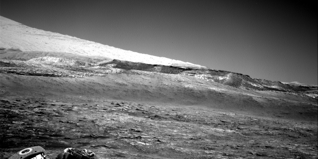 Nasa's Mars rover Curiosity acquired this image using its Right Navigation Camera on Sol 2503, at drive 3002, site number 76