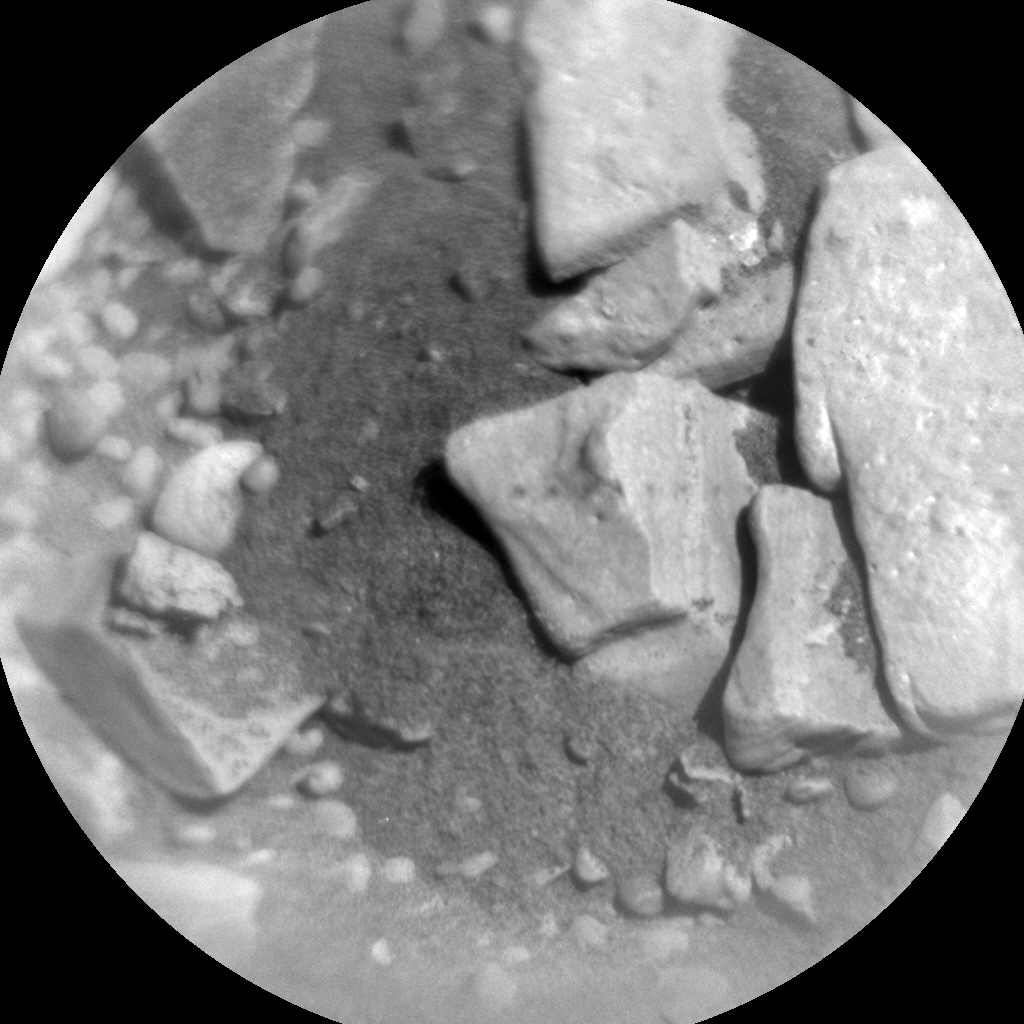 Nasa's Mars rover Curiosity acquired this image using its Chemistry & Camera (ChemCam) on Sol 2504, at drive 3002, site number 76