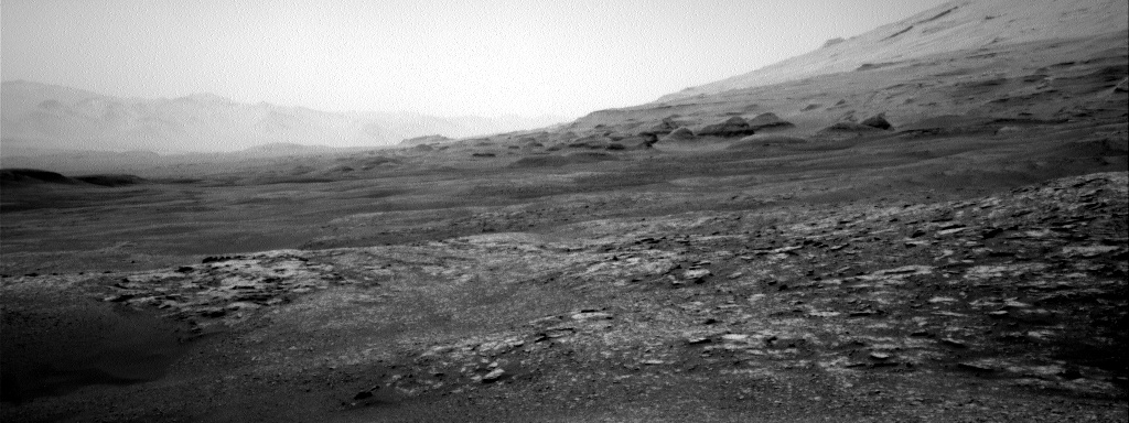 Nasa's Mars rover Curiosity acquired this image using its Right Navigation Camera on Sol 2505, at drive 3002, site number 76