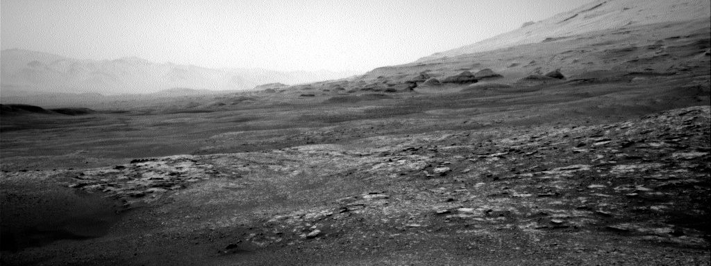 Nasa's Mars rover Curiosity acquired this image using its Right Navigation Camera on Sol 2506, at drive 3002, site number 76