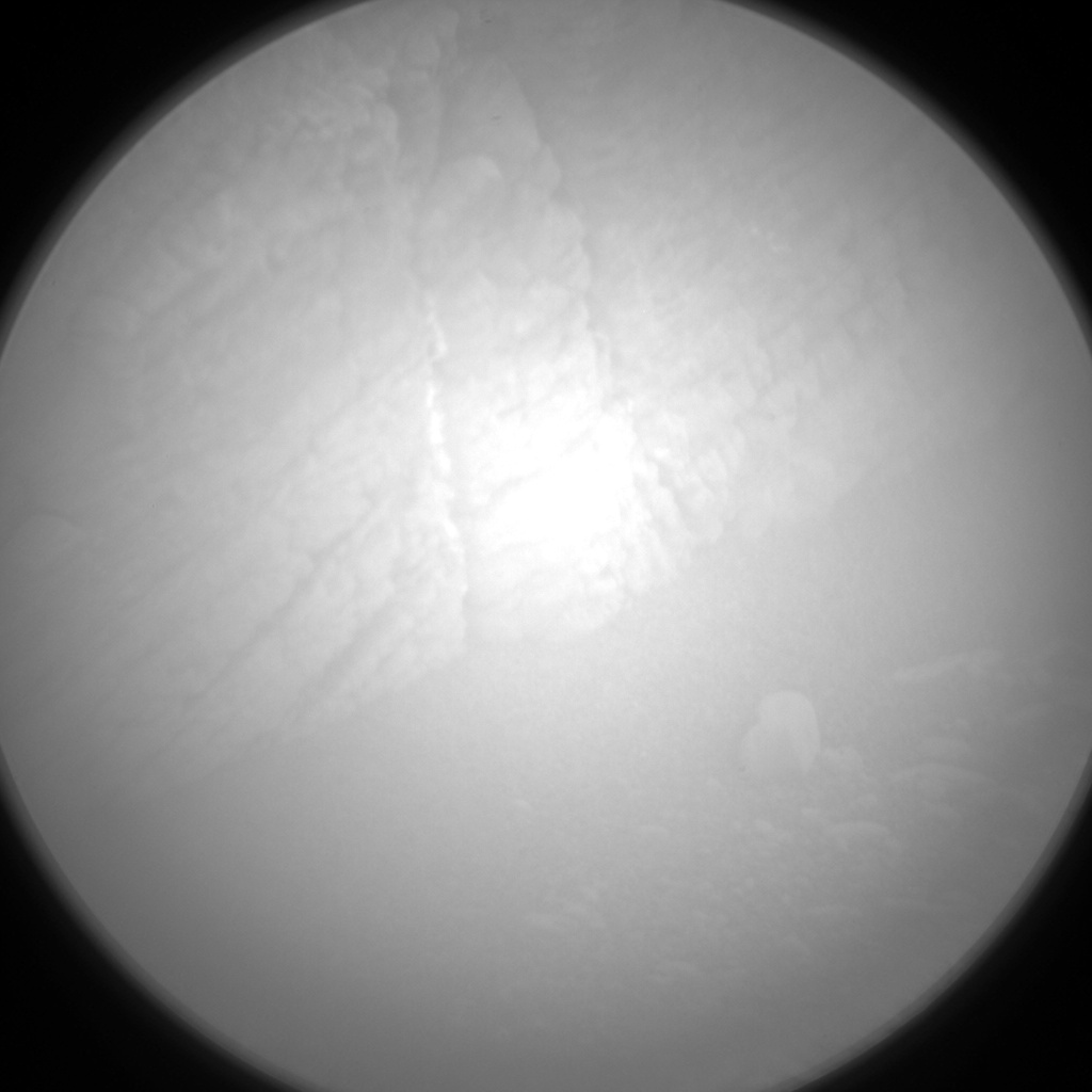 Nasa's Mars rover Curiosity acquired this image using its Chemistry & Camera (ChemCam) on Sol 2523, at drive 3002, site number 76