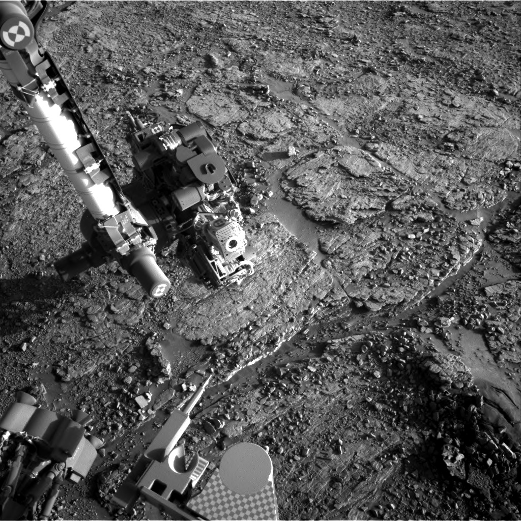 Nasa's Mars rover Curiosity acquired this image using its Right Navigation Camera on Sol 2524, at drive 3002, site number 76