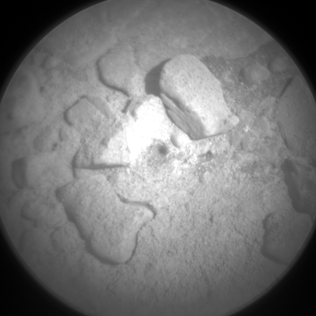 Nasa's Mars rover Curiosity acquired this image using its Chemistry & Camera (ChemCam) on Sol 2526, at drive 3002, site number 76