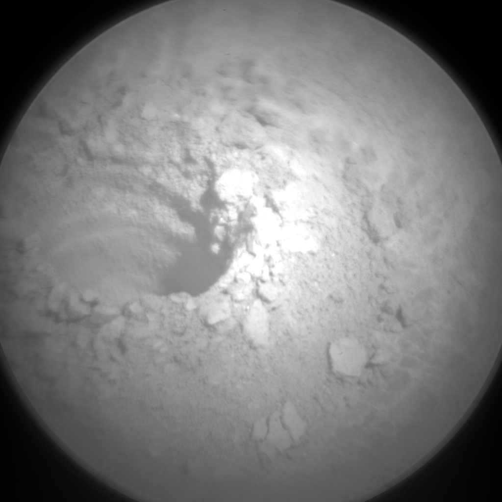 Nasa's Mars rover Curiosity acquired this image using its Chemistry & Camera (ChemCam) on Sol 2528, at drive 3002, site number 76