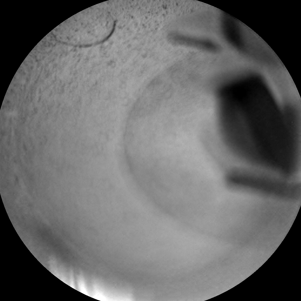 Nasa's Mars rover Curiosity acquired this image using its Chemistry & Camera (ChemCam) on Sol 2530, at drive 3002, site number 76