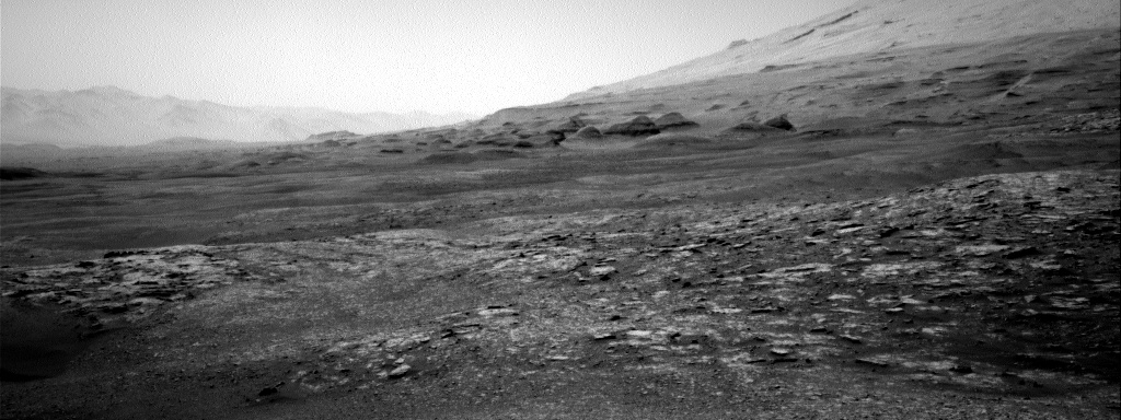 Nasa's Mars rover Curiosity acquired this image using its Right Navigation Camera on Sol 2532, at drive 3002, site number 76