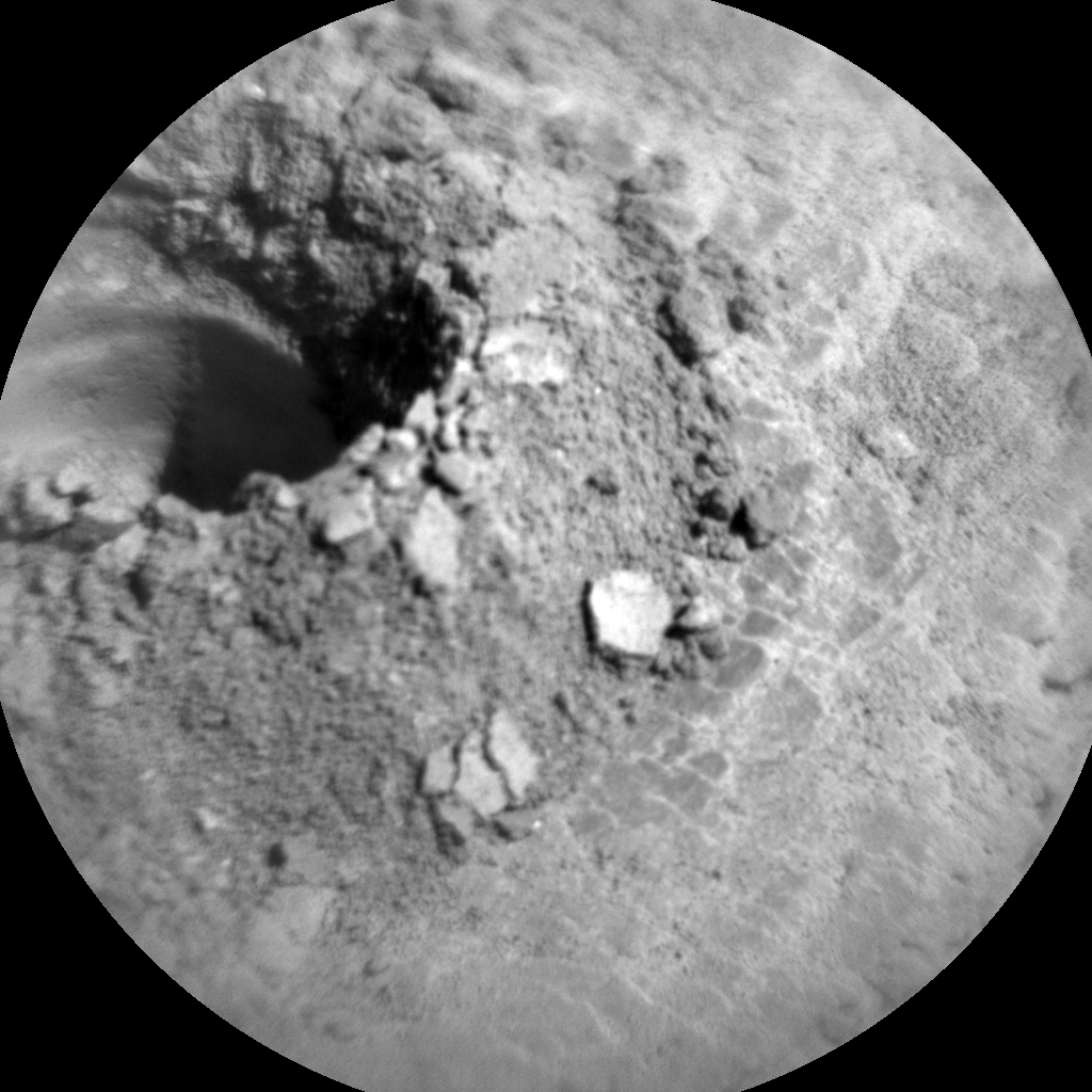 Nasa's Mars rover Curiosity acquired this image using its Chemistry & Camera (ChemCam) on Sol 2535, at drive 3002, site number 76