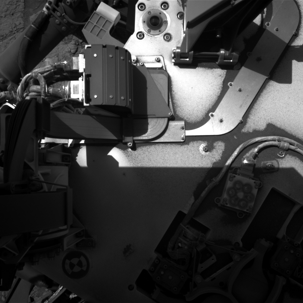 Nasa's Mars rover Curiosity acquired this image using its Right Navigation Camera on Sol 2537, at drive 3002, site number 76