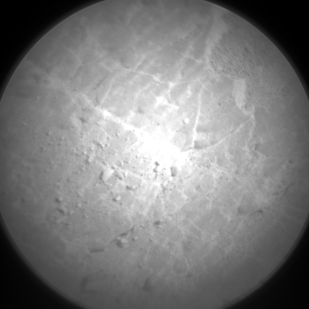 Nasa's Mars rover Curiosity acquired this image using its Chemistry & Camera (ChemCam) on Sol 2538, at drive 3002, site number 76