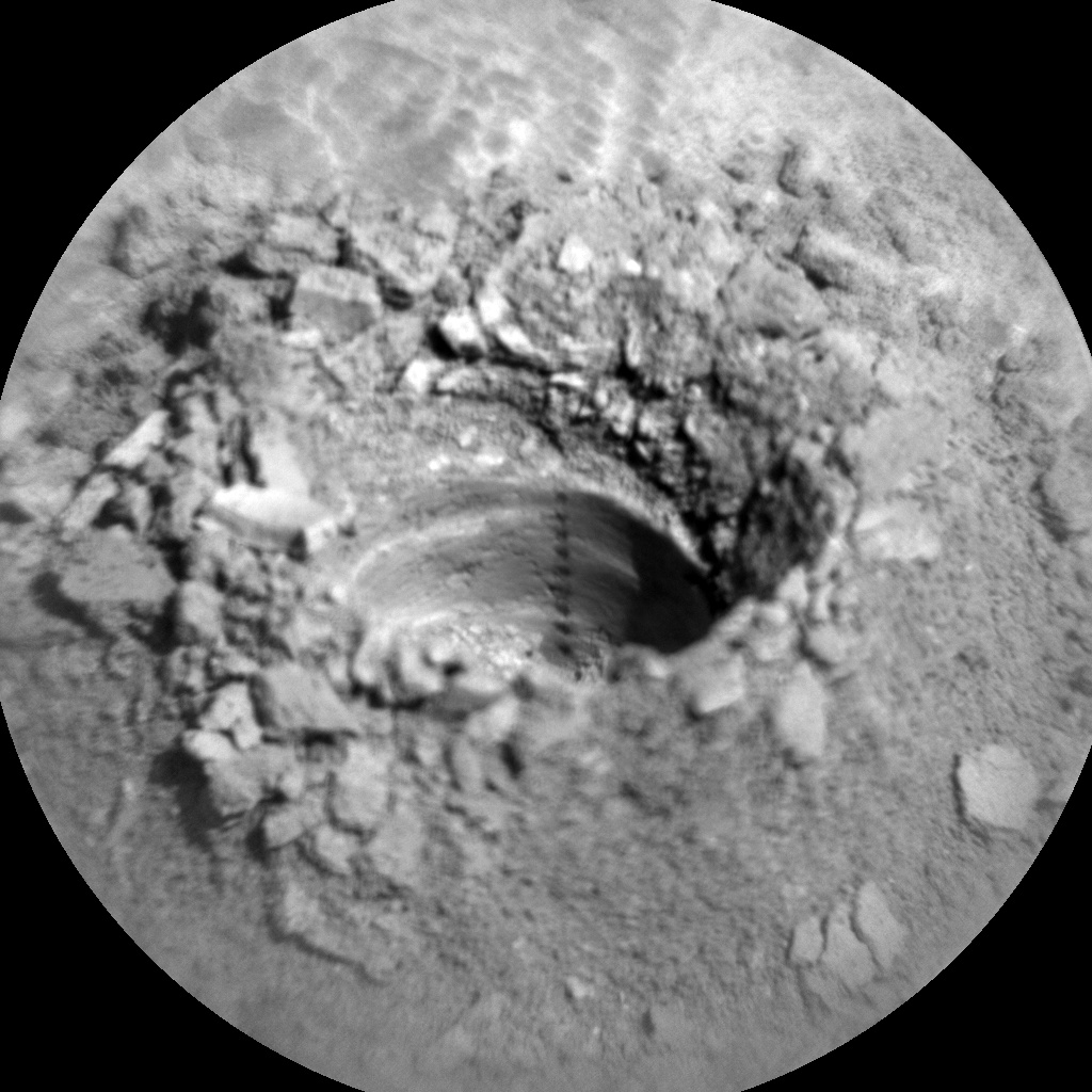 Sol 2543-2544: Dumping Dirt on its Back