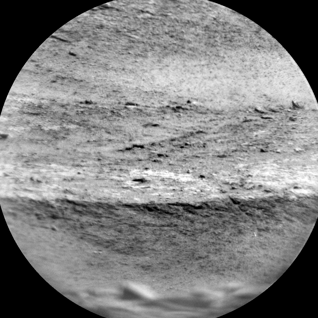 Nasa's Mars rover Curiosity acquired this image using its Chemistry & Camera (ChemCam) on Sol 2547, at drive 3002, site number 76