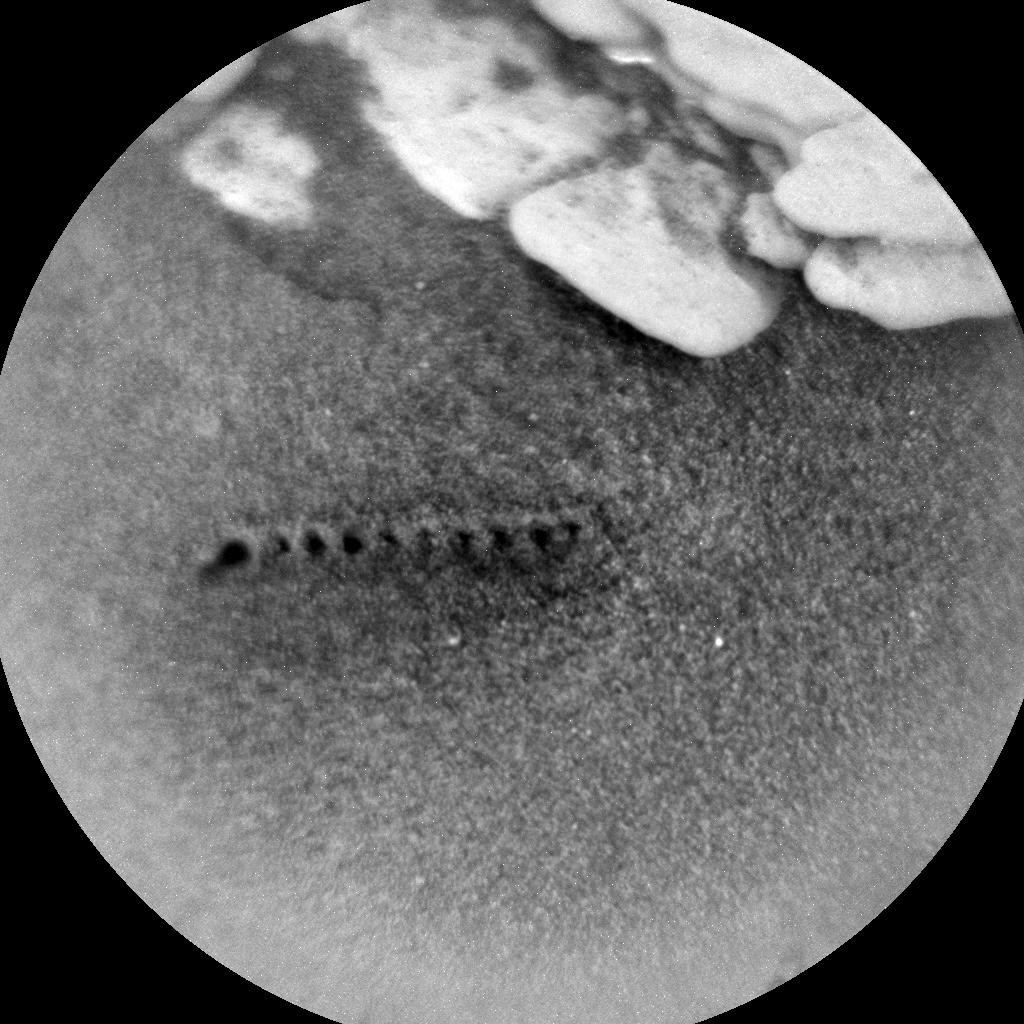 Nasa's Mars rover Curiosity acquired this image using its Chemistry & Camera (ChemCam) on Sol 2548, at drive 3002, site number 76