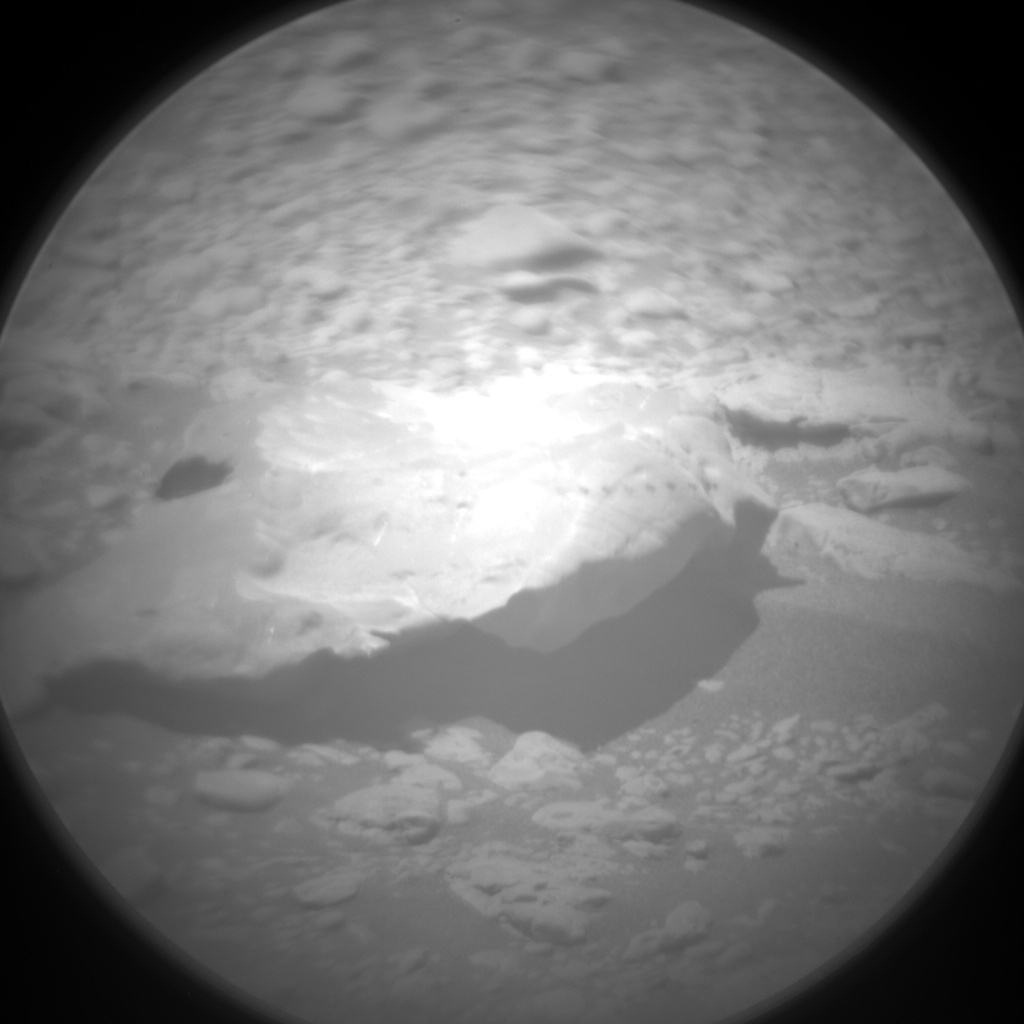 Nasa's Mars rover Curiosity acquired this image using its Chemistry & Camera (ChemCam) on Sol 2550, at drive 3002, site number 76