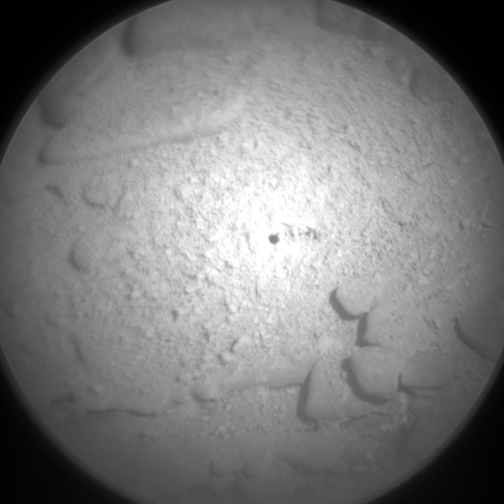Nasa's Mars rover Curiosity acquired this image using its Chemistry & Camera (ChemCam) on Sol 2554, at drive 3002, site number 76