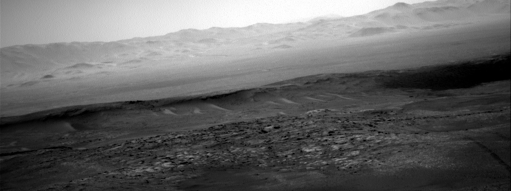 Nasa's Mars rover Curiosity acquired this image using its Right Navigation Camera on Sol 2554, at drive 3002, site number 76