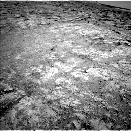 Nasa's Mars rover Curiosity acquired this image using its Left Navigation Camera on Sol 2555, at drive 3020, site number 76