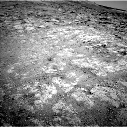 Nasa's Mars rover Curiosity acquired this image using its Left Navigation Camera on Sol 2555, at drive 3026, site number 76