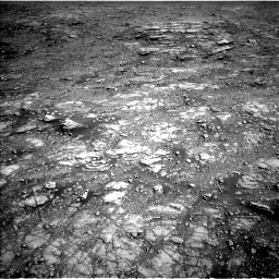 Nasa's Mars rover Curiosity acquired this image using its Left Navigation Camera on Sol 2555, at drive 3176, site number 76