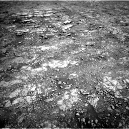 Nasa's Mars rover Curiosity acquired this image using its Left Navigation Camera on Sol 2555, at drive 3200, site number 76