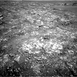 Nasa's Mars rover Curiosity acquired this image using its Left Navigation Camera on Sol 2555, at drive 3212, site number 76