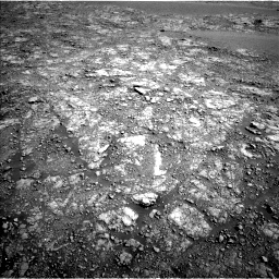 Nasa's Mars rover Curiosity acquired this image using its Left Navigation Camera on Sol 2555, at drive 3230, site number 76