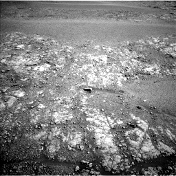 Nasa's Mars rover Curiosity acquired this image using its Left Navigation Camera on Sol 2555, at drive 3278, site number 76