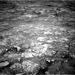 Nasa's Mars rover Curiosity acquired this image using its Right Navigation Camera on Sol 2555, at drive 3110, site number 76