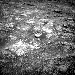 Nasa's Mars rover Curiosity acquired this image using its Right Navigation Camera on Sol 2555, at drive 3140, site number 76
