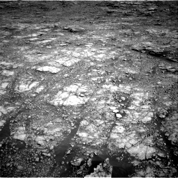 Nasa's Mars rover Curiosity acquired this image using its Right Navigation Camera on Sol 2555, at drive 3152, site number 76