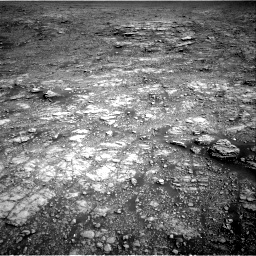 Nasa's Mars rover Curiosity acquired this image using its Right Navigation Camera on Sol 2555, at drive 3170, site number 76