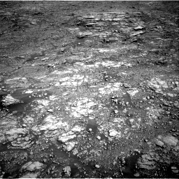 Nasa's Mars rover Curiosity acquired this image using its Right Navigation Camera on Sol 2555, at drive 3182, site number 76