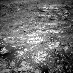 Nasa's Mars rover Curiosity acquired this image using its Right Navigation Camera on Sol 2555, at drive 3188, site number 76