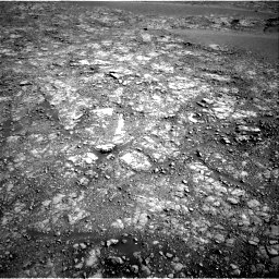 Nasa's Mars rover Curiosity acquired this image using its Right Navigation Camera on Sol 2555, at drive 3224, site number 76