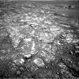 Nasa's Mars rover Curiosity acquired this image using its Right Navigation Camera on Sol 2555, at drive 3230, site number 76