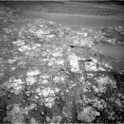 Nasa's Mars rover Curiosity acquired this image using its Right Navigation Camera on Sol 2555, at drive 3260, site number 76